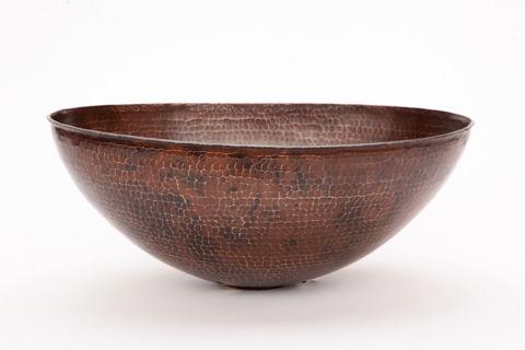 """17"""" Oval Espeso Copper Vessel Sink by SoLuna"""