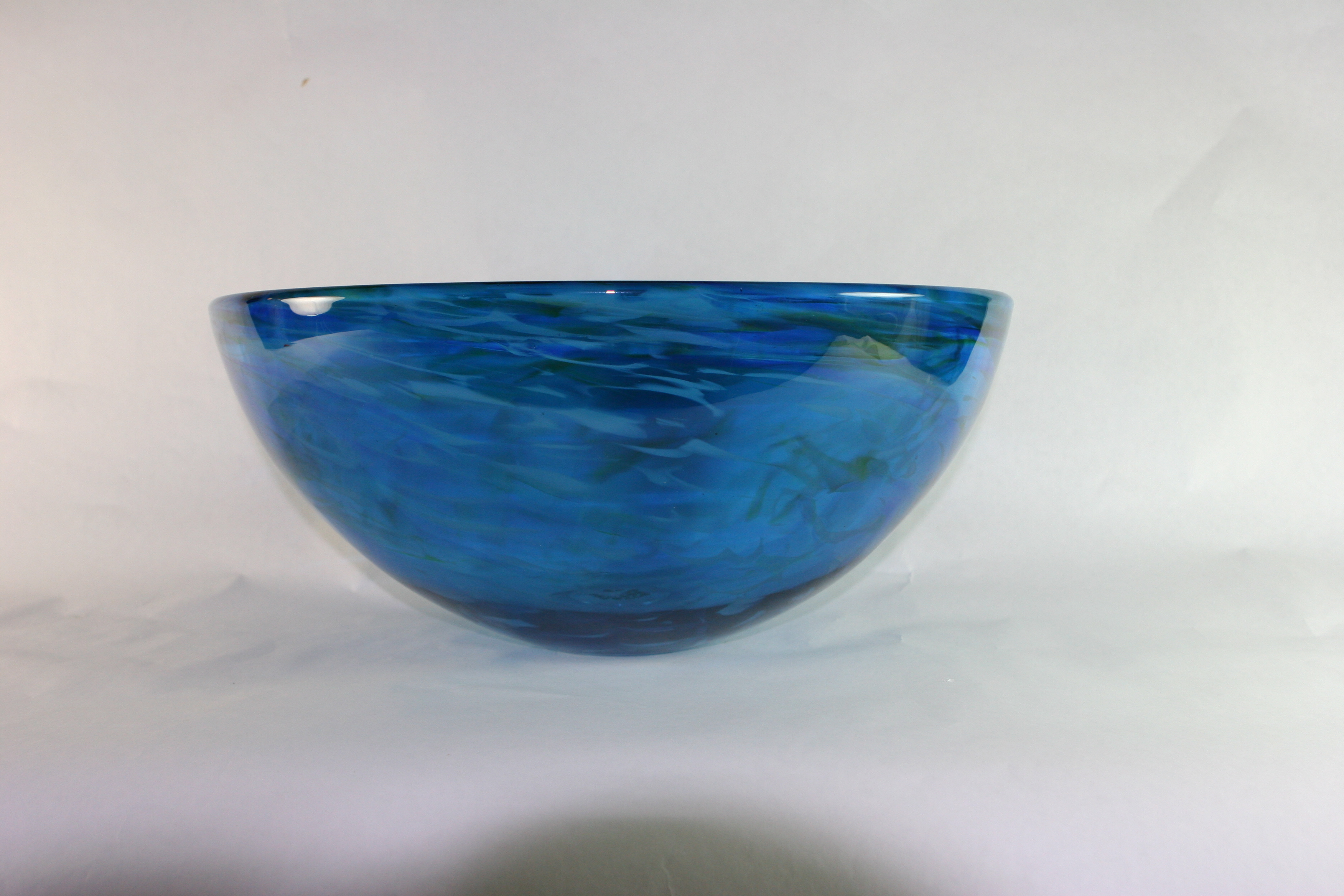 Picture of Blown Glass Sink - Blue Water I