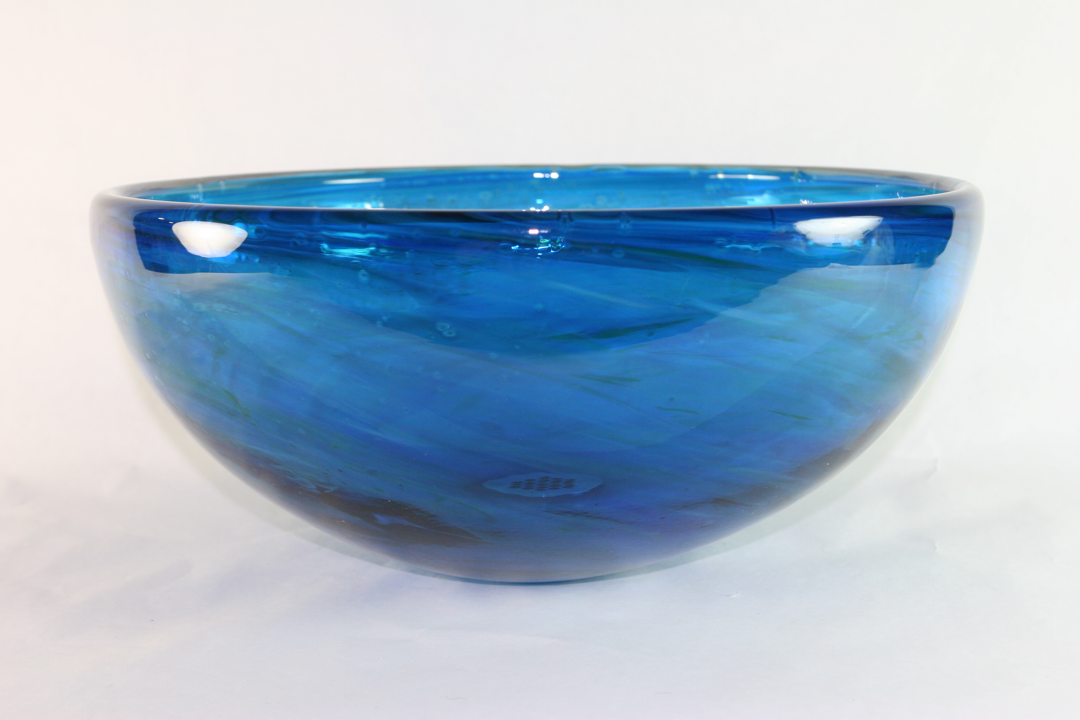 Picture of Blown Glass Sink - Blue Water III