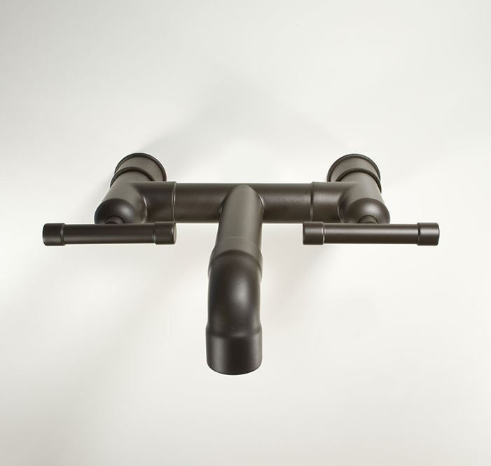 Picture of Sonoma Forge | Bathroom Faucet | Waterbridge Elbow Spout | Wall Mount