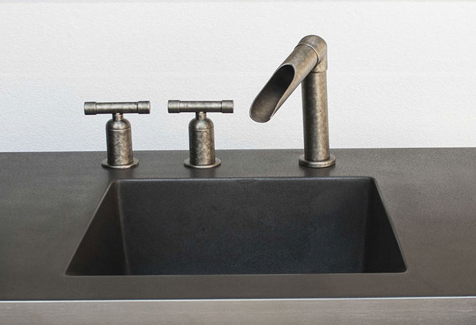 Picture of Sonoma Forge | Bathroom Faucet | Wherever Waterfall | Deck Mount