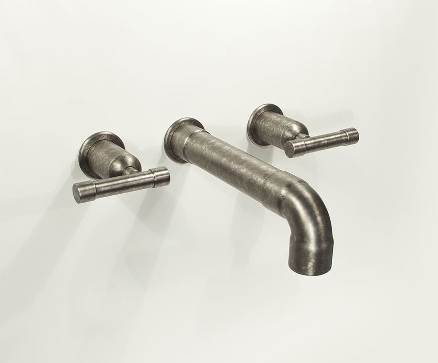 Picture of Sonoma Forge   Bathroom Faucet   Wherever Elbow Spout   Wall Mount