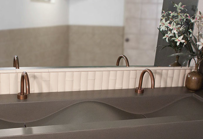 Picture of Sonoma Forge   Bathroom Faucet   Gooseneck   Hands Free