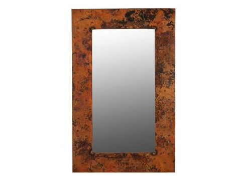 Tall Copper Mirror 48""