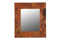 Rustic Copper Mirror