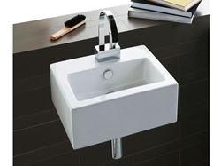 Bissonnet Ice 43 Wall-Mount or Vessel Ceramic Sink