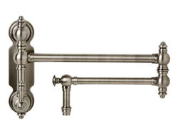 Waterstone Traditional Wall-Mount Pot Filler Faucet - Lever Handle