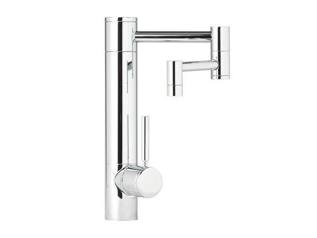 """Picture of Waterstone Hunley Kitchen Faucet - 12"""" Spout Reach"""