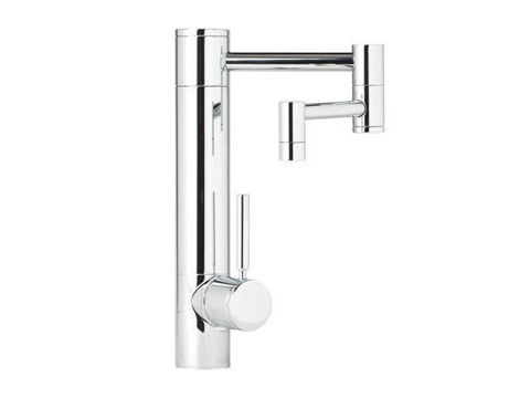 "Waterstone Hunley Kitchen Faucet - 12"" Spout Reach"