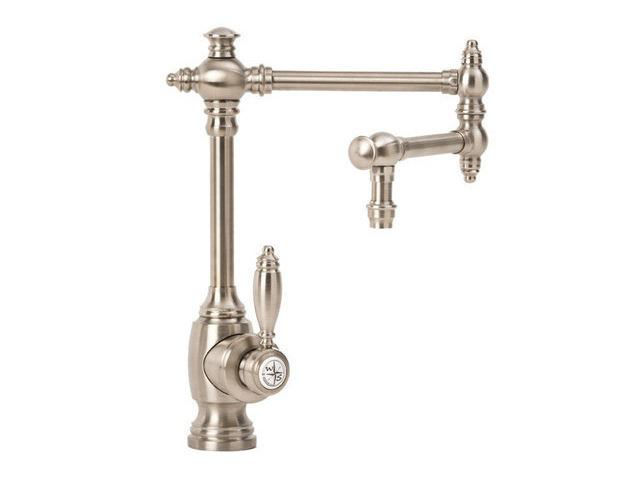"Picture of Waterstone Towson Kitchen Faucet with Single Handle - 12"" Articulated Spout"