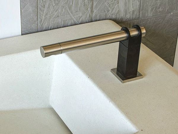 Picture of Sonoma Forge   Bathroom Faucet   Strap   Deck Mount   Hands Free