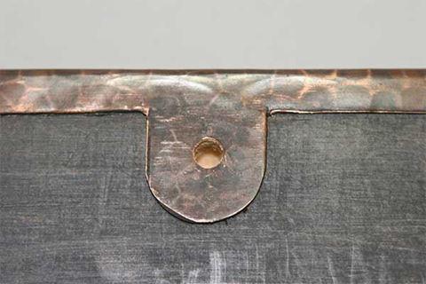 Rectangular Copper Mirror