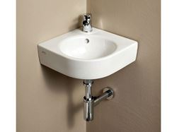 Picture of Bissonnet Comprimo Corner Italian Ceramic Sink