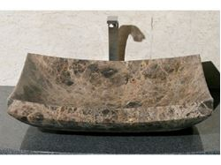 Picture of Zen Rectangular Stone Vessel Sink