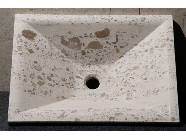 Picture of Rectangular Stone Vessel Sink