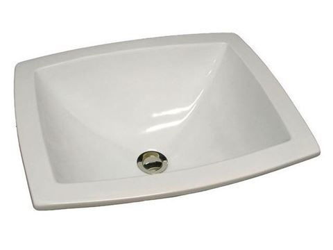 "19"" Rectangular X-Shaped Basin Sink by Marzi"