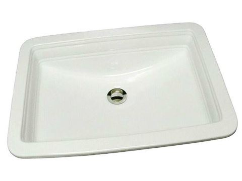 Marzi Rectangular Basin with Primary Border