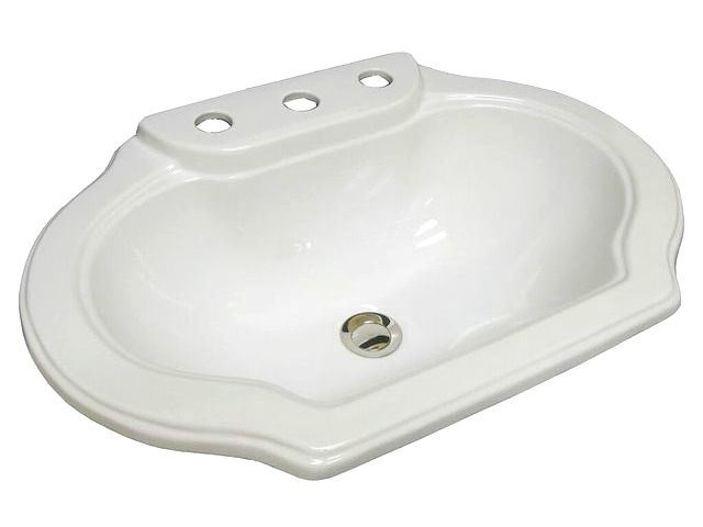 Picture of Marzi Classic Shape Drop-In Sink w/Faucet Holes
