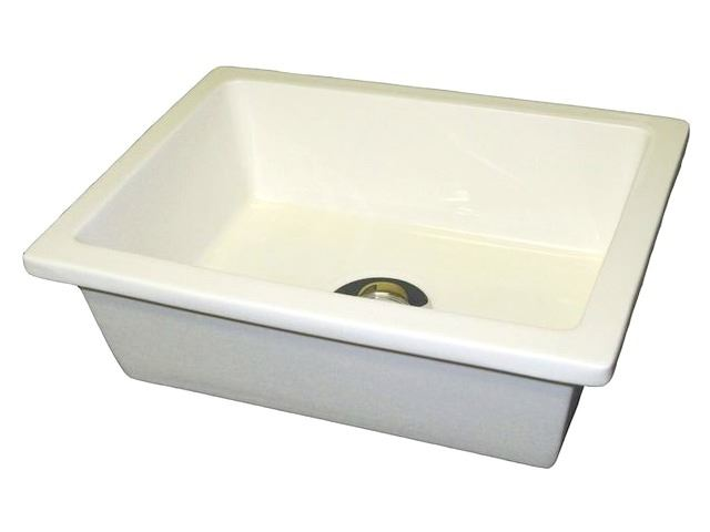 Picture of Marzi Small Rectangular Ceramic Bath Sink