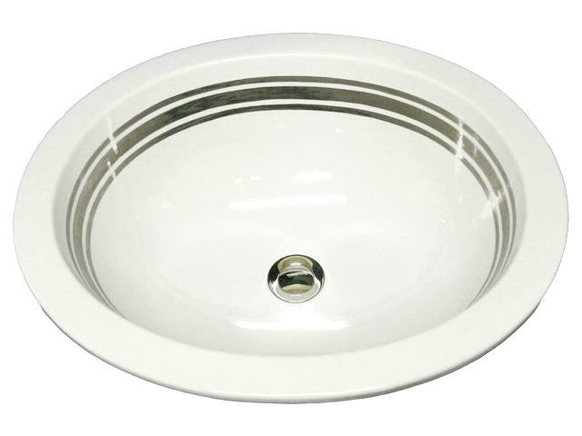Picture of Hand Painted Sink - Malibu Stripes