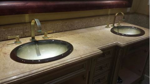 Bella Oro III Self-Rimming Oval Sink