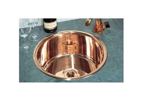 """John Day 17"""" Round Metal Prep Sink"""