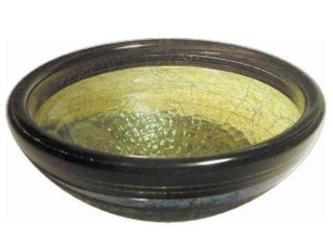 Jade Stringer Glass Baptismal Font