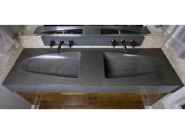 Picture of Stone Double Sink