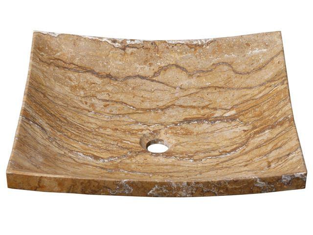 Picture of Zen Rectangular Stone Vessel Sink