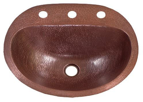 "Picture of 17"" Durango Copper Bathroom Sink by SoLuna"