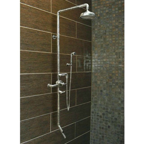 Sonoma Forge | Thermostatic Shower Systems | Waterbridge 980 with Handshower & Tub Filler
