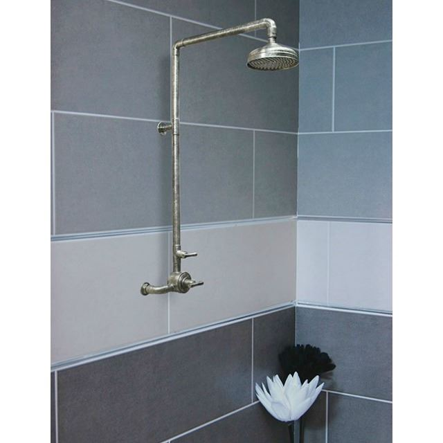 Picture of Sonoma Forge   Thermostatic Shower System   Waterbridge 940