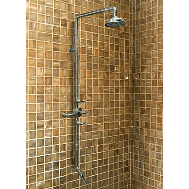 Picture of Sonoma Forge   Thermostatic Shower System   Waterbridge 970 with Tub Filler