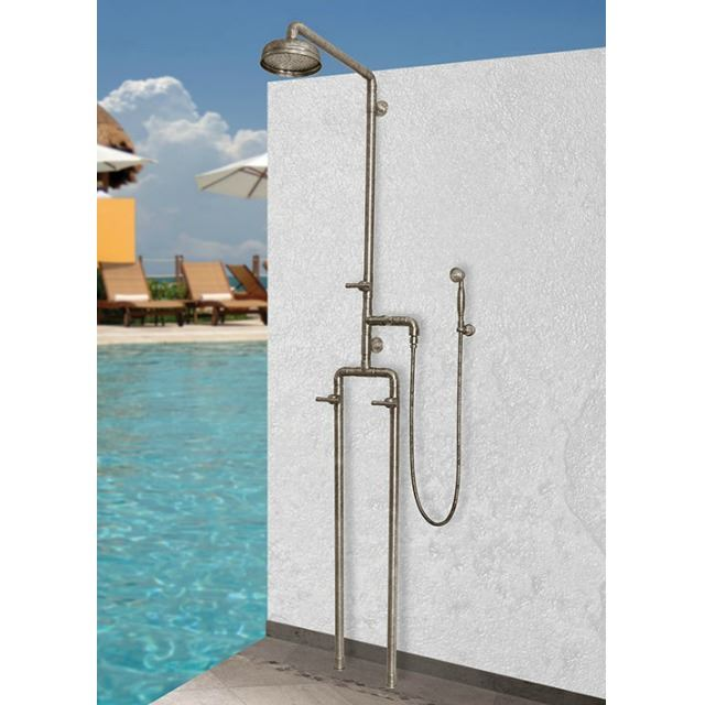 Picture of Sonoma Forge   Outdoor Shower   Waterbridge 1050 with Handshower