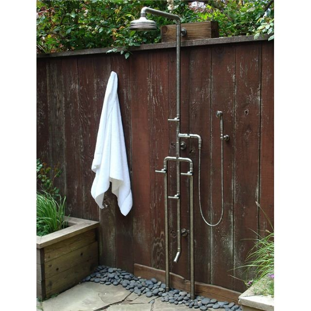 Picture of Sonoma Forge   Outdoor Shower   Waterbridge 1080 with Foot Wash & Handshower