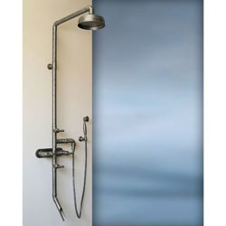 Sonoma Forge | Outdoor Shower | Waterbridge 880 with Tub Filler & Handshower