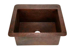 "25"" Copper Kitchen Sink by SoLuna"
