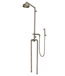 Sonoma Forge Waterbridge 1150 Exposed Outdoor Shower System with Handshower
