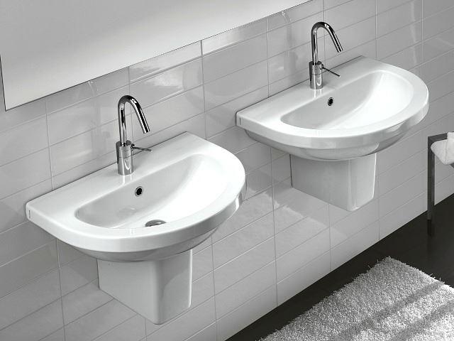 Picture of Bissonnet Pro Erika 62 Semi-Pedestal Sink