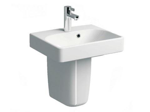 Bissonnet Smyle Semi-Pedestal Sink 45/60