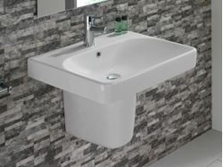 Picture of Bissonnet Smyle Semi-Pedestal Sink 45/60