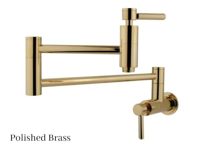 Picture of Kingston Brass Concord Swing Arm Pot Filler Faucet