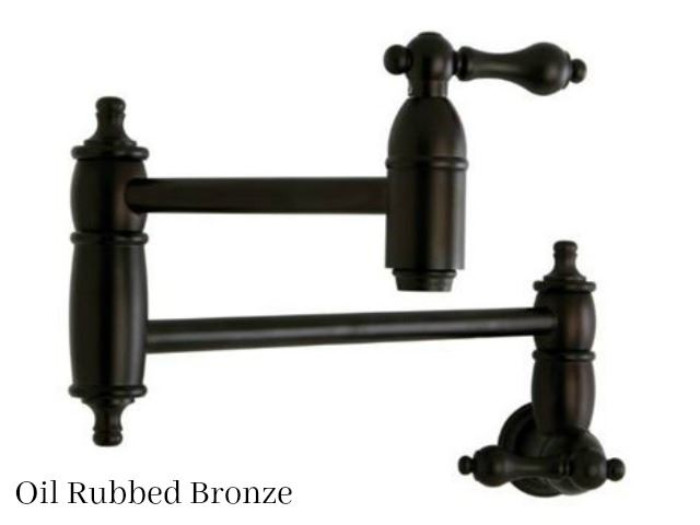 Picture of Kingston Brass Restoration Wall Mount Pot Filler Faucet