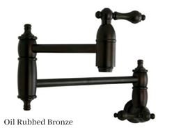 Picture of Kingston Brass Restoration Wall Mount Pot Filler Faucet
