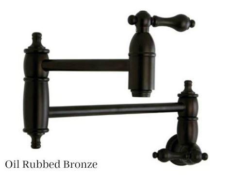 Kingston Brass Restoration Wall Mount Pot Filler Faucet