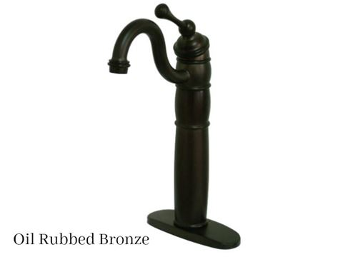 Kingston Brass Heritage Vessel Bath Faucet