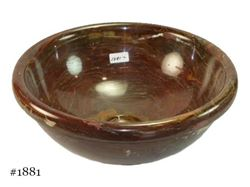 SoLuna Round Red Onyx Vessel Bath Sink - Sale