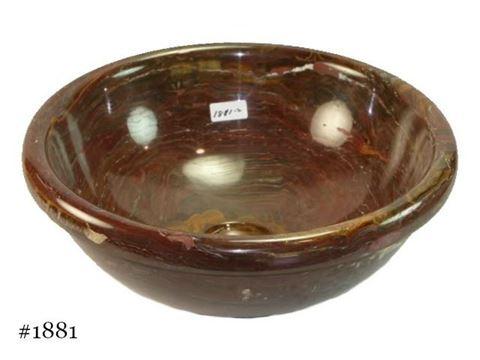 SoLuna Round Red Onyx Vessel Bath Sink - Sale