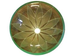 Picture of Double Pinwheel Glass Sink