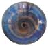 Blue Spiral Glass Sink